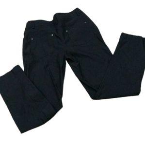 89th & Madison blue lightweight stretch pants